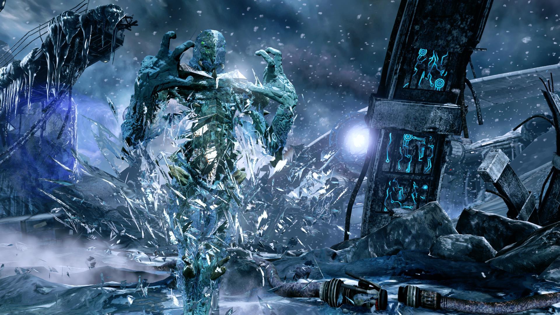 Glacius' Armor in Killer Instinct