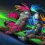 Laser Trio in Knight Squad
